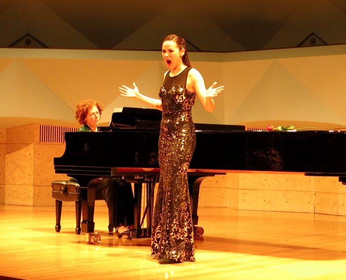 Eleanor Mayerfeld - Soprano and Violinist from Madison, Wisconsin.