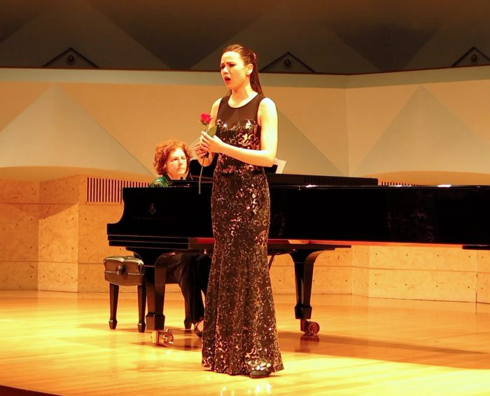 Eleanor Mayerfeld - Soprano and Violinist from Madison, Wisconsin.